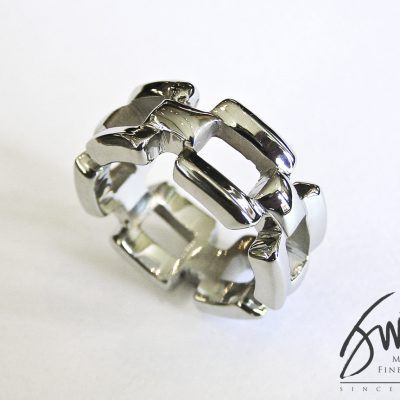 Jack Miller Custom Chain Link Men's Ring