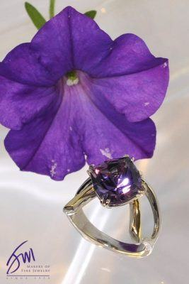 Gorgeous Amethyst Cocktail Ring