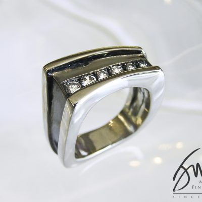 Jack Miller Men's Rhodium Ring