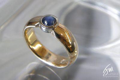 Jack Miller Custom Men's Sapphire Ring
