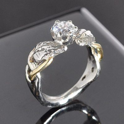 Engagement Ring Kelly Leaf