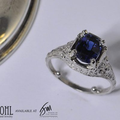 Hugo Kohl Vintage Engagement Ring