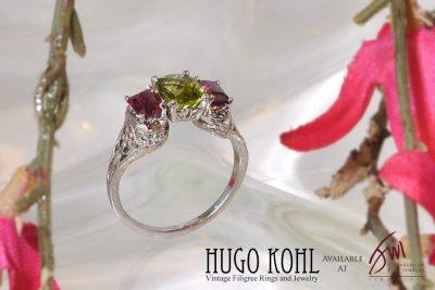 Vintage Engagement Ring By Hugo Kohl